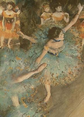 Degas Notebook (Decorative Notebooks) Cover Image