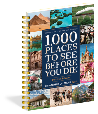 1,000 Places to See Before You Die Engagement Calendar 2021 Cover Image