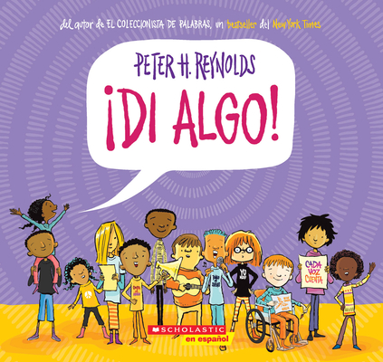 ¡Di algo! (Say Something!) Cover Image
