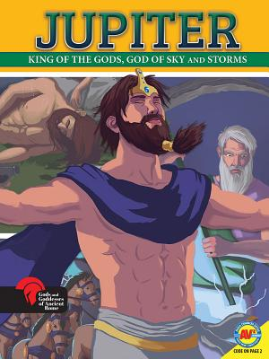 Jupiter King of the Gods, God of Sky and Storms Cover Image