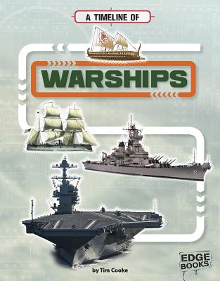 A Timeline of Warships (Military Technology Timelines) Cover Image