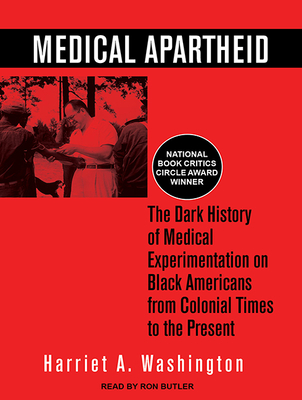 Cover for Medical Apartheid