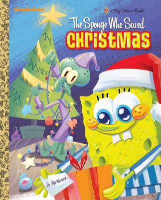 The Sponge Who Saved Christmas Cover