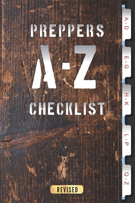 A-Z Checklist: For storing important Prepper information Cover Image