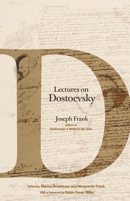 Cover for Lectures on Dostoevsky