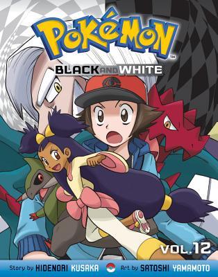 Pokemon Black and White, Volume 12 Cover