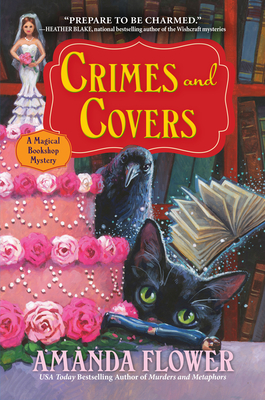 Crimes and Covers: A Magical Bookshop Mystery Cover Image