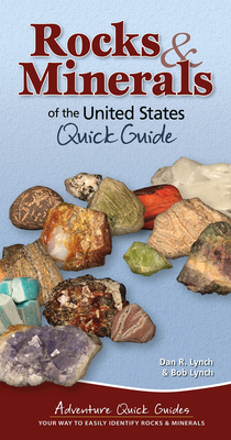 Rocks & Minerals of the United States: Quick Guide (Adventure Quick Guides) Cover Image