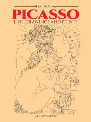 Picasso Line Drawings and Prints (Dover Fine Art) Cover Image