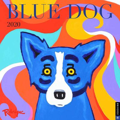 Blue Dog 2020 Wall Calendar Cover Image
