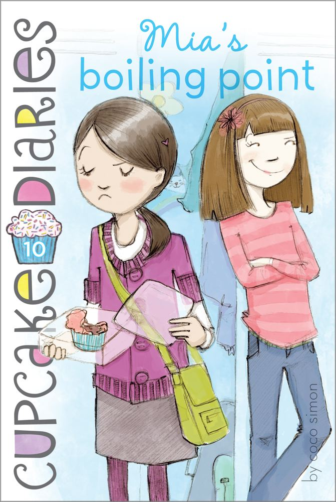 Mia's Boiling Point (Cupcake Diaries #10) Cover Image
