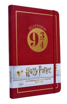 Harry Potter: Platform Nine and Three Quarters Travel Journal Cover Image