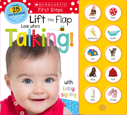 Look Who's Talking! Lift the Flap: Scholastic Early Learners (Sound Book) Cover Image