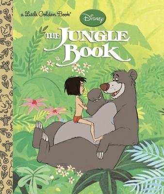 The Jungle Book (Disney The Jungle Book) (Little Golden Book) Cover Image
