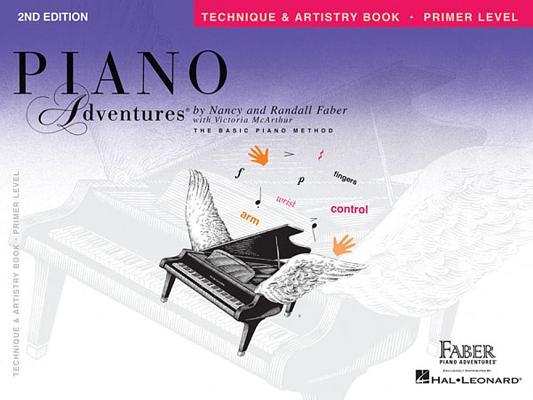 Primer Level - Technique & Artistry Book: Piano Adventures Cover Image
