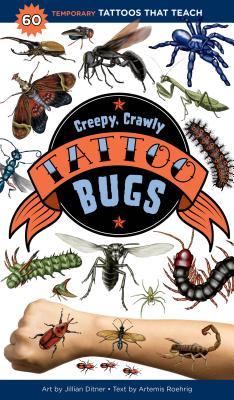 Cover for Creepy, Crawly Tattoo Bugs