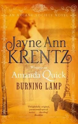 Cover for Burning Lamp. Amanda Quick. Jayne Ann Krentz