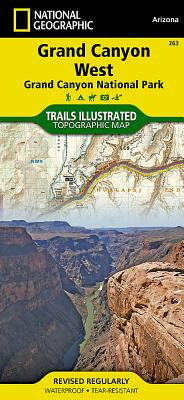 Grand Canyon West [Grand Canyon National Park] (National Geographic Trails Illustrated Map #263) Cover Image