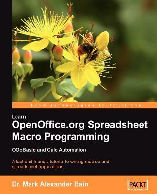Learn Openoffice.Org Spreadsheet Macro Programming Cover Image