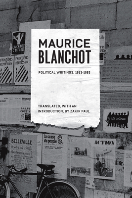 Political Writings, 1953-1993 (French Voices) Cover Image