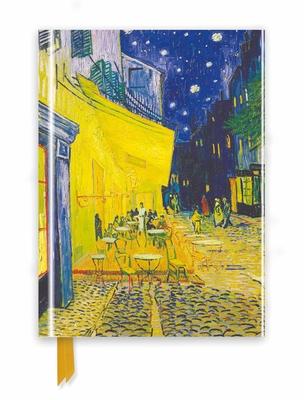 Van Gogh: Café Terrace (Foiled Journal) (Flame Tree Notebooks) Cover Image