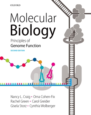 Molecular Biology: Principles of Genome Function Cover Image