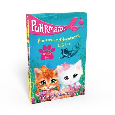 Purrmaids Fin-tastic Adventures 1-4 Gift Set Cover Image