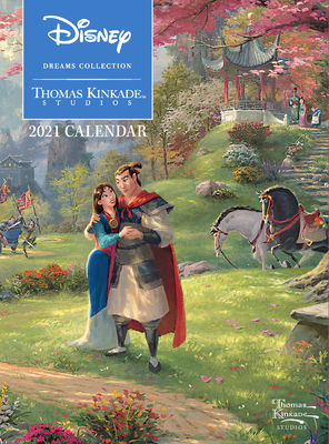 Disney Dreams Collection by Thomas Kinkade Studios: 2021 Monthly/Weekly Engageme Cover Image