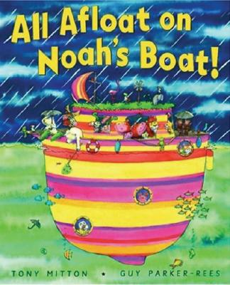 All Afloat On Noah's Boat Cover