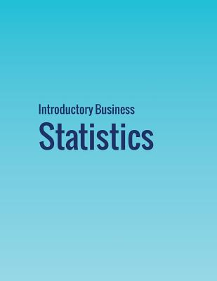Introductory Business Statistics Cover Image