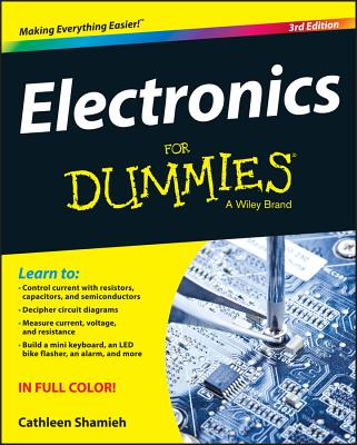 Electronics For Dummies, 3rd Edition Cover Image