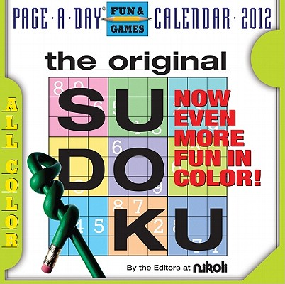 Sudoku 2012 Page-a-Day Calendar Cover Image