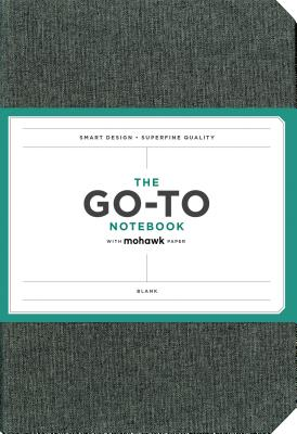Go-To Notebook with Mohawk Paper, Slate Grey Blank: (Blank Notebook, Simple Notebook, Basic Grey Notebook) Cover Image