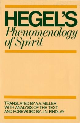 Phenomenology of Spirit (Galaxy Books) Cover Image