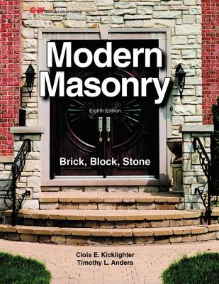 Modern Masonry: Brick, Block, Stone Cover Image