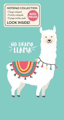 Book of Sticky Notes: Notepad Collection - No Drama Llama Cover Image