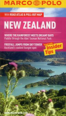 Marco Polo New Zealand [With Map] Cover Image