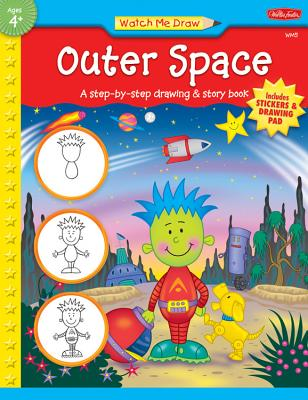 Outer Space [With StickersWith Drawing Pad] Cover