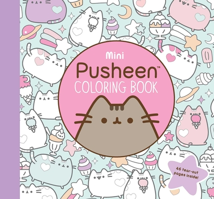 Mini Pusheen Coloring Book (A Pusheen Book) Cover Image