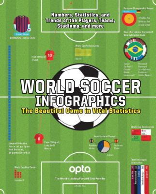 World Soccer Infographics: The Beautiful Game in Vital Statistics Cover Image