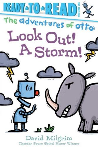 Look Out! A Storm! (The Adventures of Otto) Cover Image