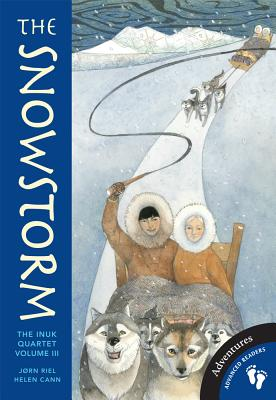 Inuk Quartet Vol 3 the Snowstorm PB Cover