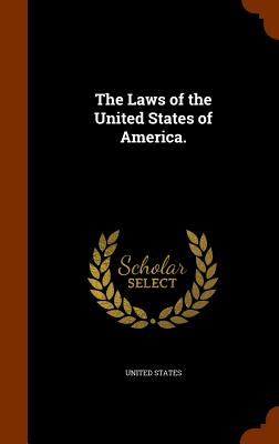 Cover for The Laws of the United States of America.