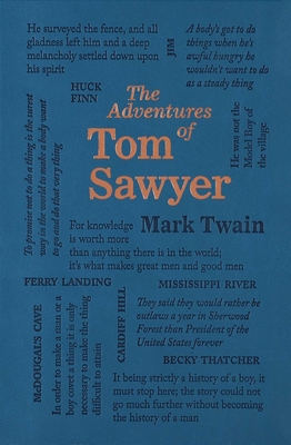 The Adventures of Tom Sawyer (Word Cloud Classics) Cover Image