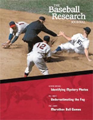 The Baseball Research Journal (BRJ), Volume 33 Cover Image