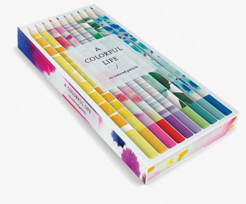 A Colorful Life: 10 Colored Pencils Cover Image