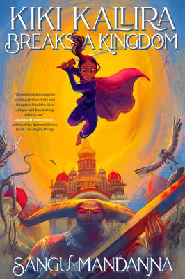Cover for Kiki Kallira Breaks a Kingdom