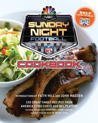 NBC Sunday Night Football Cookbook Cover