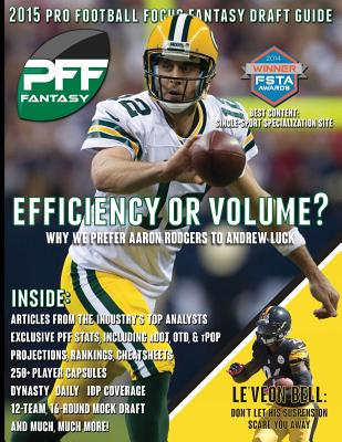 2015 Pro Football Focus Fantasy Draft Guide Cover Image