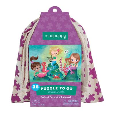 Mermaids Puzzle to Go Cover Image